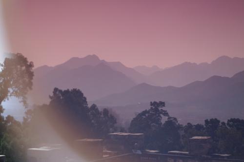 Mountain beats trumpetting on